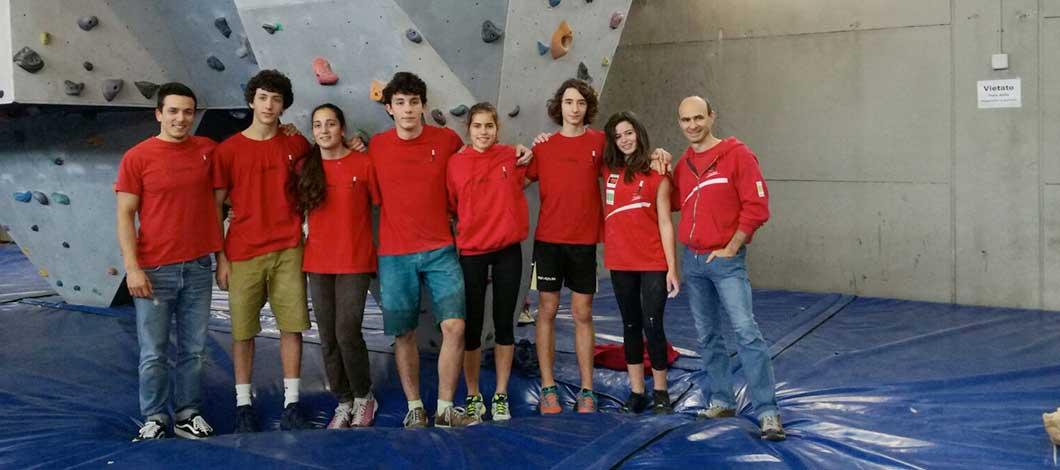A Spinea ottimo esordio per gli atleti veronesi nella gara boulder U20