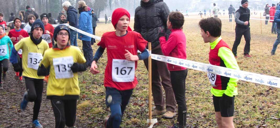 """Domenica 19 febbraio """"baby"""" protagonisti alla corsa campestre di Villa Buri"""
