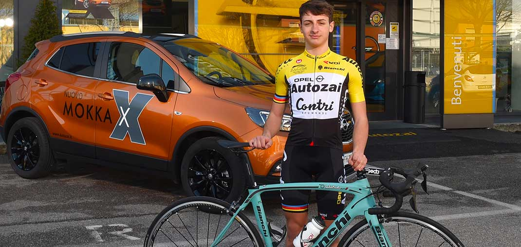 Autozai Contri Omap: Petrucci convocato agli Europei Juniores in Repubblica Ceca